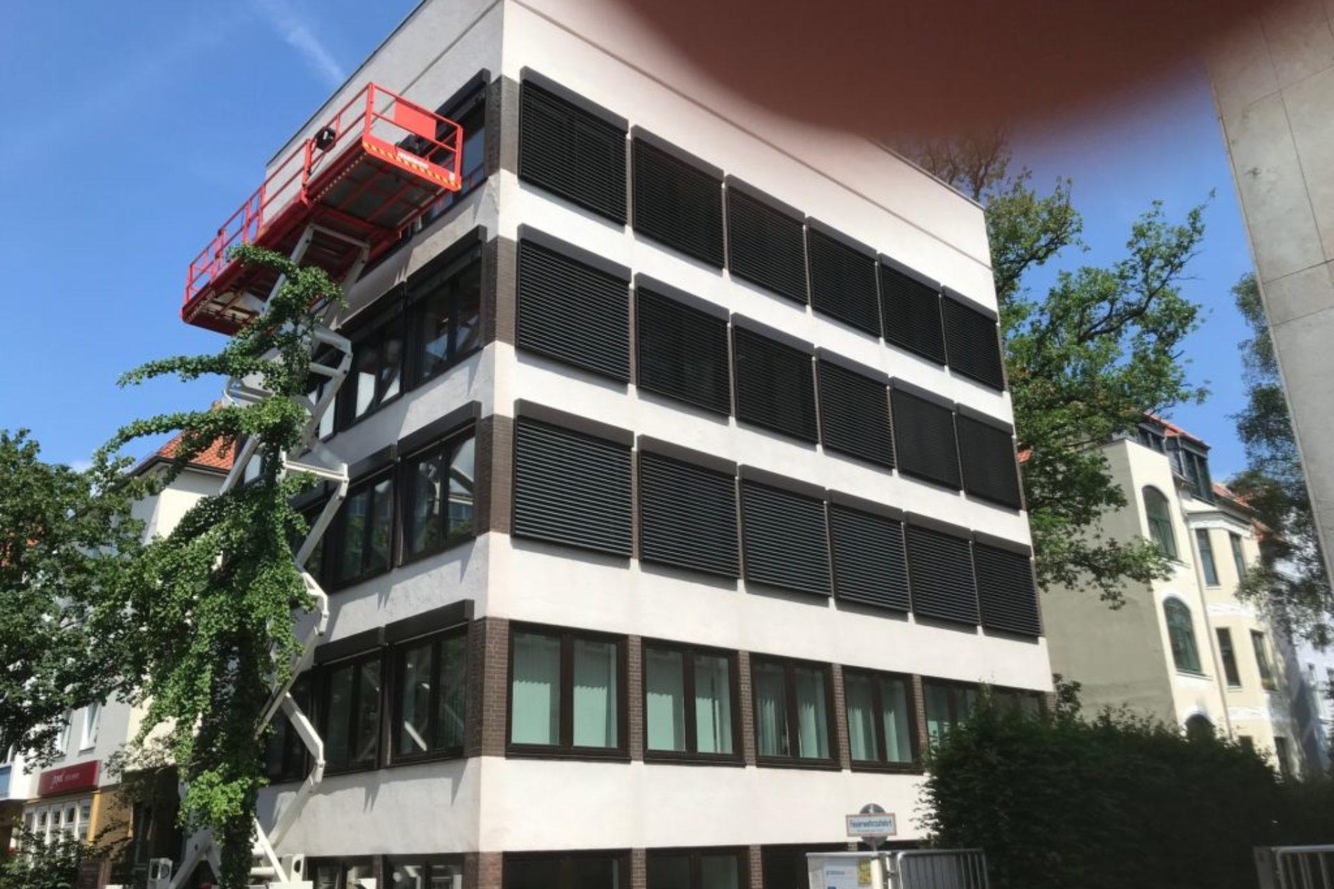 Hannover - Sanierung Bürohaus - im Bau