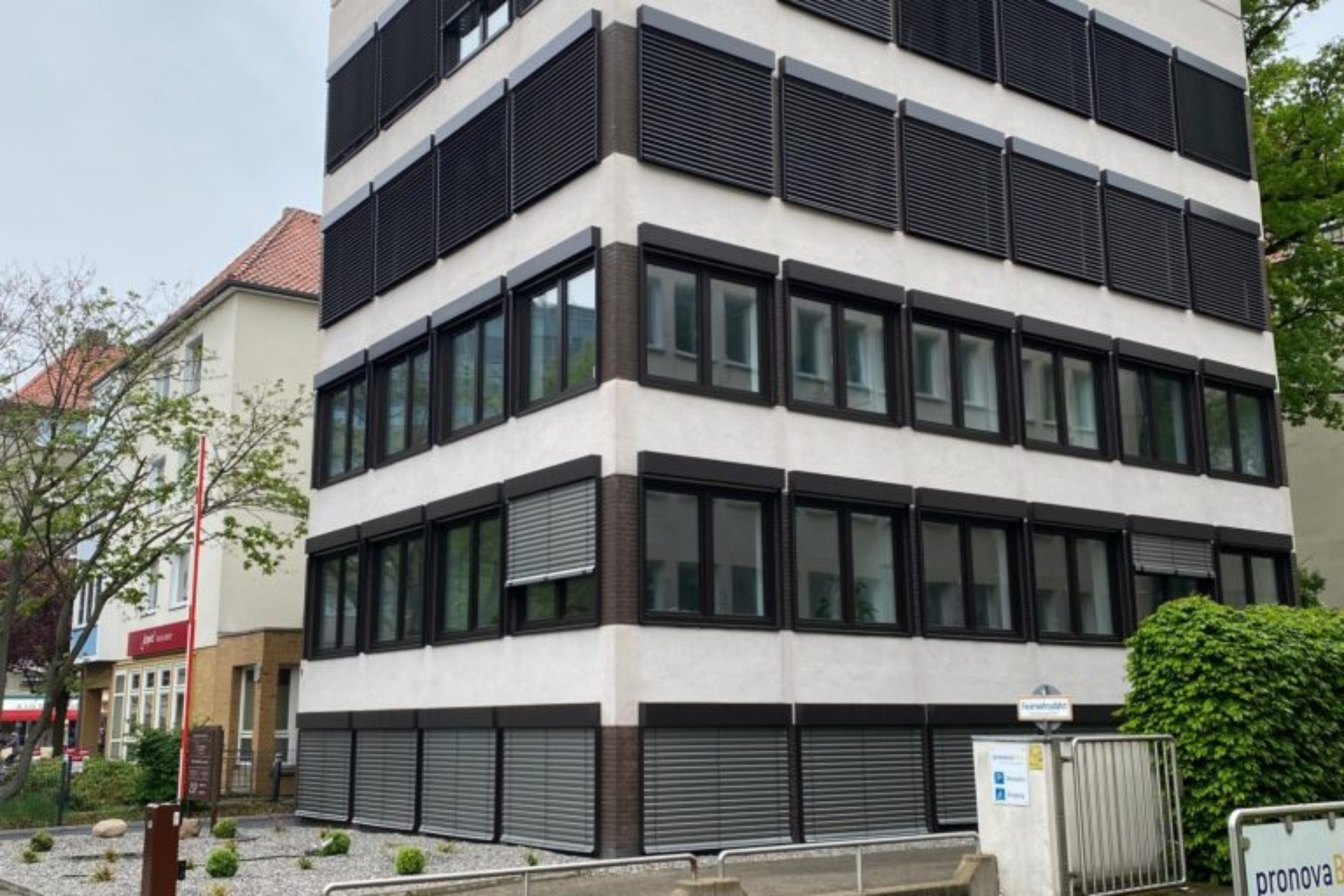 Hannover - Sanierung Bürohaus - nachher