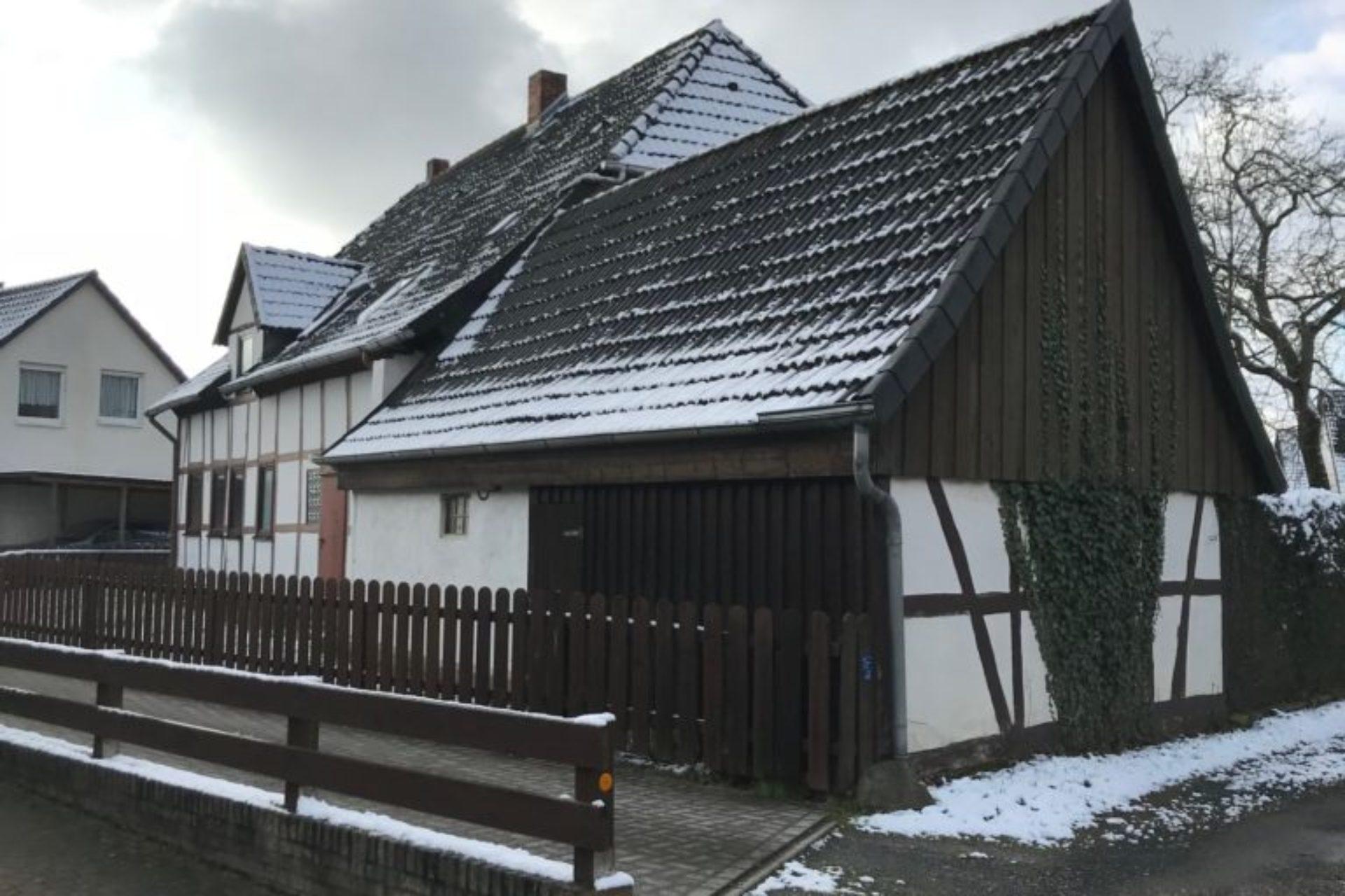 Lehrte - Neubau Doppelhaus - vorher