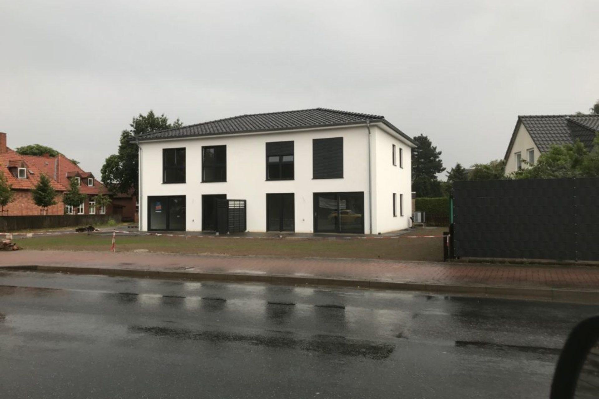 Lehrte - Neubau Doppelhaus - nachher